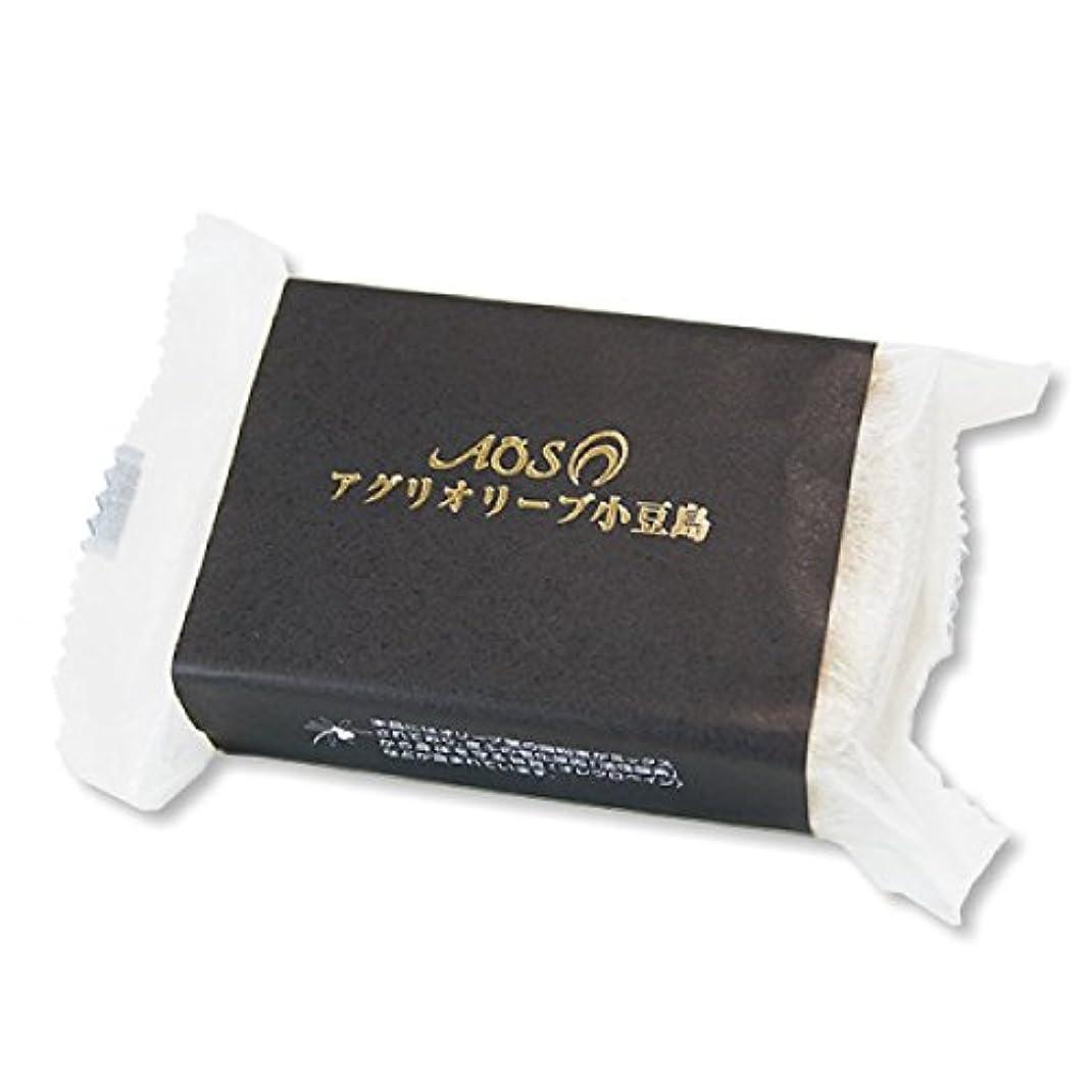完全に生き物キャプション小豆島産オリーブ使用 「釜炊きオリーブ石鹸」 80g