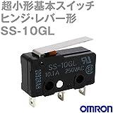 オムロン 超小形基本スイッチ 10.1A ヒンジ・レバー形 SS-10GL