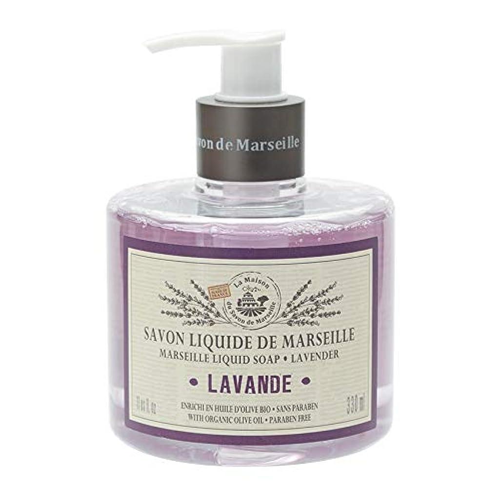 消毒剤パノラマ乳白ノルコーポレーション マルセイユ石鹸 リキッドソープ 330ml ラベンダーの香り MLL-1-2