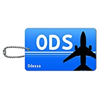 オデッサ、ウクライナ(ODS)空港コード IDカード荷物タグ