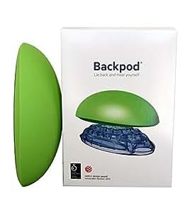 Backpod ― Backpodは、頸部痛、上背部の痛み、頭痛のための高質なトリートメントです。これらの痛みは、スマートフォンやコンピュータを猫背になって使用していることで起こります。また、Backpodは、肋軟骨炎、ティーツェ症候群、喘息持ちの方、理想的な姿勢になりたい方にもおすすめです。