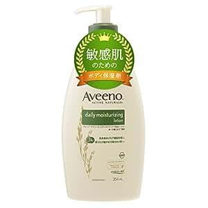 【Amazon.co.jp限定】Aveeno(アビーノ) デイリーモイスチャライジング 保湿ローション 354ml 【敏感肌の方向け】