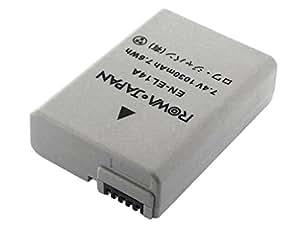 【実容量高】 【残量表示&純正充電器対応】【最新ICチップ採用】 NIKON ニコン COOLPIX P7700 P7800 D5300 D3200 Df の EN-EL14 EN-EL14A 互換バッテリー【ロワジャパン社名明記のPSEマーク付】