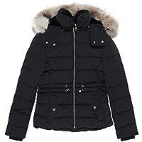 Zara Women Hooded Down Puffer Jacket 0518/047 Black