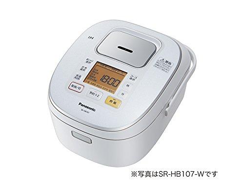 パナソニック 1升 炊飯器 IH式 ホワイト SR-HB187-W
