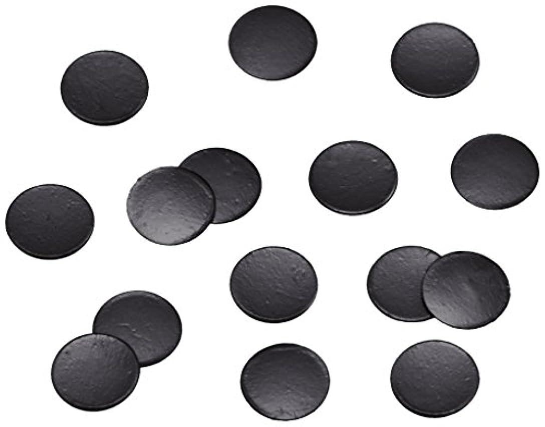 憂鬱なジャンク噛むピカエース ネイル用パウダー 丸ビビット 2.0mm #652 ブラック 0.5g