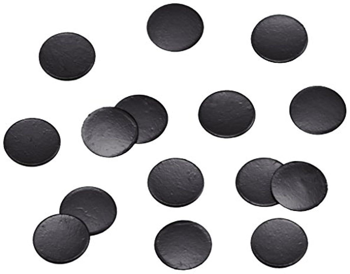 シルエット買い物に行く爪ピカエース ネイル用パウダー 丸ビビット 2.0mm #652 ブラック 0.5g