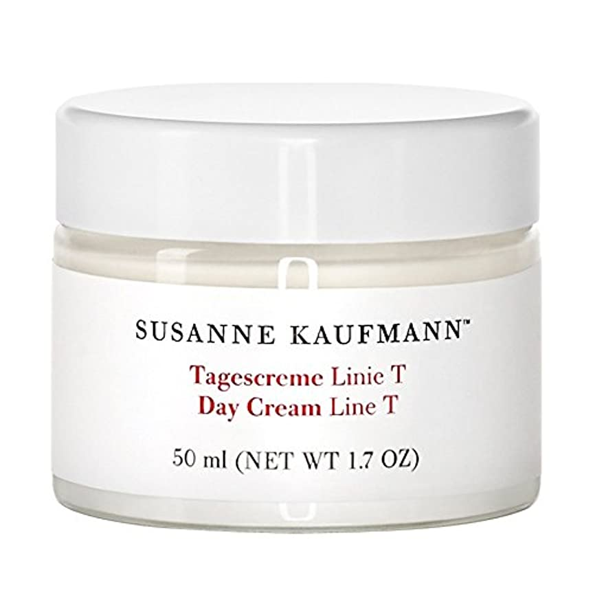 水平筋どれでもスザンヌカウフマン日クリームライントンの50ミリリットル x4 - Susanne Kaufmann Day Cream Line T 50ml (Pack of 4) [並行輸入品]