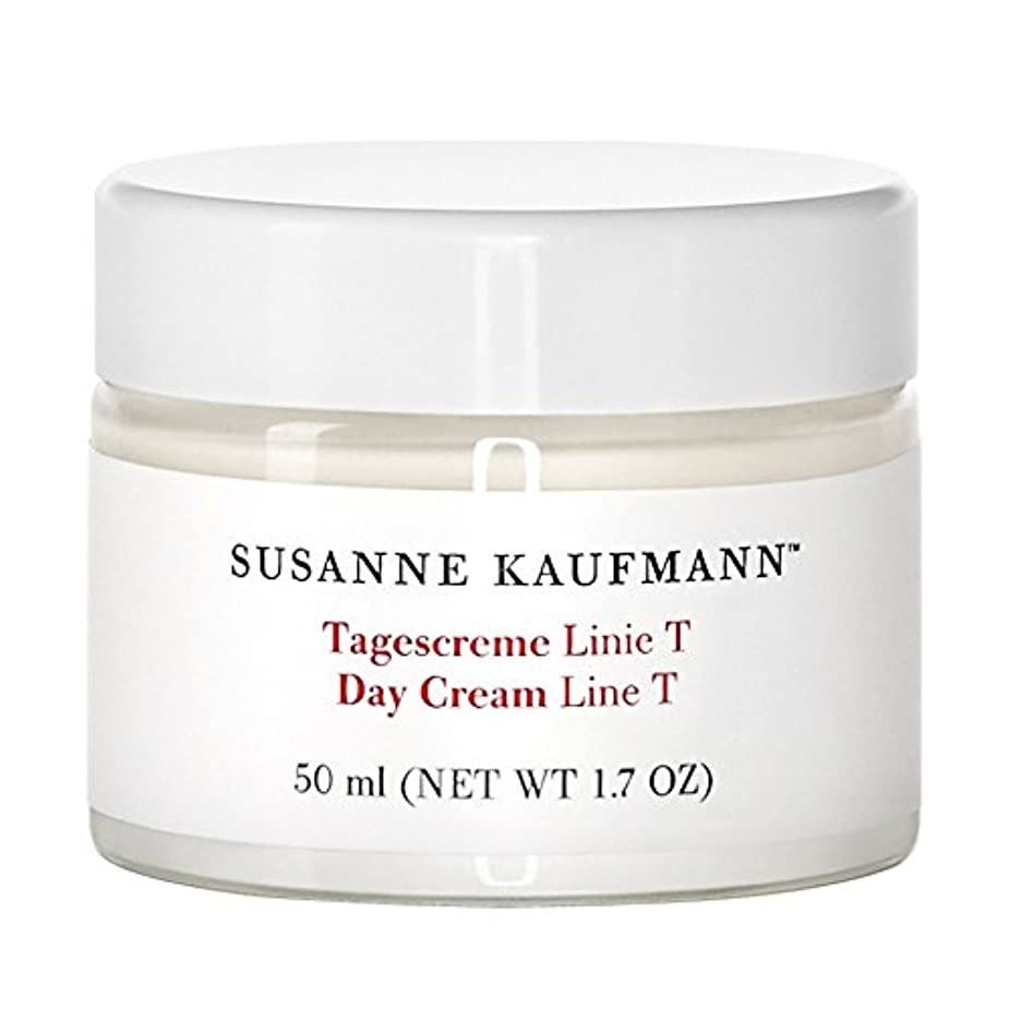 有名人建物ヘッジスザンヌカウフマン日クリームライントンの50ミリリットル x4 - Susanne Kaufmann Day Cream Line T 50ml (Pack of 4) [並行輸入品]