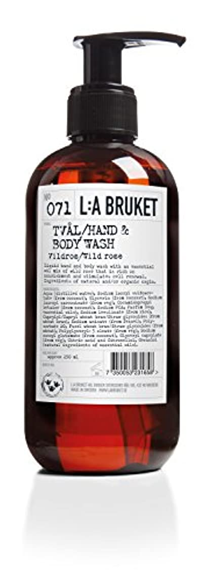 L:a Bruket (ラ ブルケット) ハンド&ボディウォッシュ (ワイルドローズ) 450g