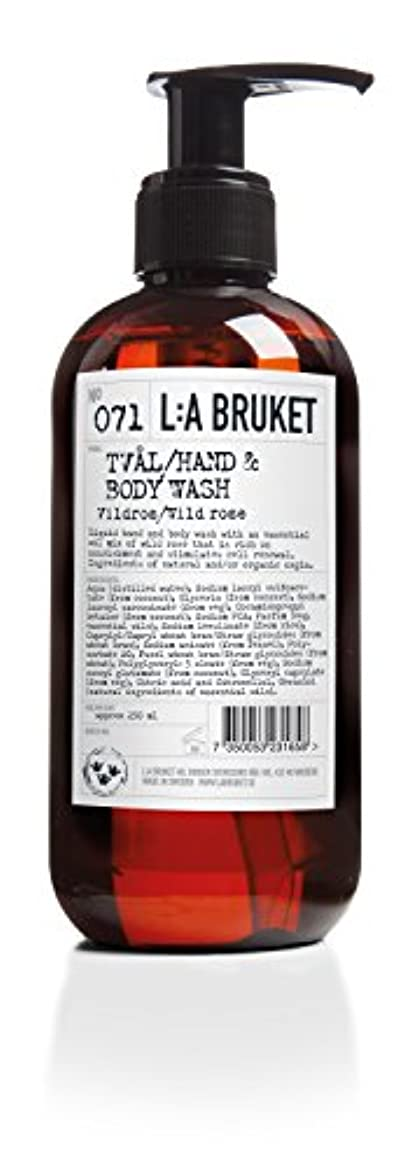 蒸習字バイパスL:a Bruket (ラ ブルケット) ハンド&ボディウォッシュ (ワイルドローズ) 450g