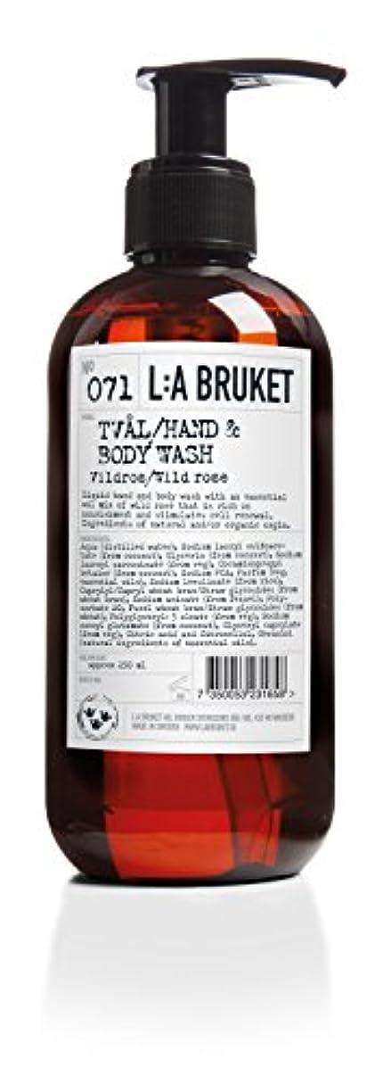 辞任拮抗するギターL:a Bruket (ラ ブルケット) ハンド&ボディウォッシュ (ワイルドローズ) 450g