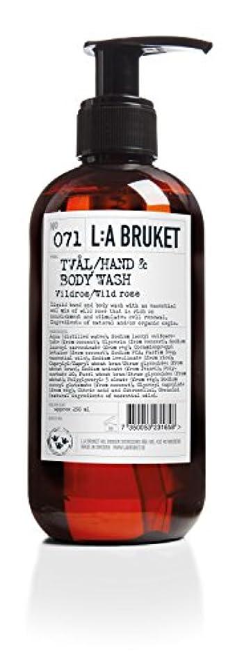 誤って証拠比類なきL:a Bruket (ラ ブルケット) ハンド&ボディウォッシュ (ワイルドローズ) 450g
