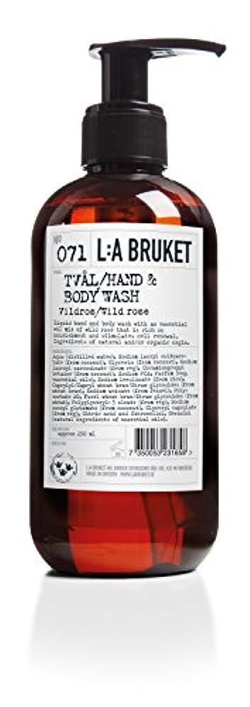 パレード言うとまり木L:a Bruket (ラ ブルケット) ハンド&ボディウォッシュ (ワイルドローズ) 450g