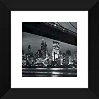 New York at Night 20 x 20入りアート印刷。