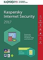 Kaspersky SW Pc INT.Sec.2017 1Lic。
