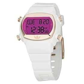 adidas (アディダス) 腕時計 ORIGINALS MIDSIZE CANDY キャンディ ポジティブ アクリルプラスティック / ピンク クリスタル ADH9001 ミッドサイズ ケース幅: 34mm