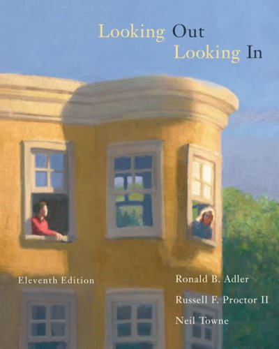 Download Looking Out, Looking in With Infotrac (Wadsworth Series in Communication Studies) 0534636284