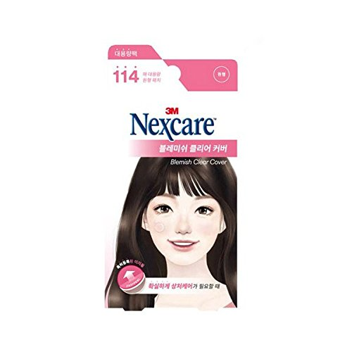 [New] 3M Nexcare Blemish Clear Cover Easy Peel 114 Patches/3M ネクスケア ブレミッシュ クリア カバー...