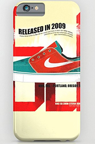 Society6(ソサエティ6)iPhoneケース スマホケース iPhone6 6S 6プラス 6Sプラス 7 7プラス 5 5S SE ナイキ NIKE LAオリジナル (iPhone6 6S 7対応, Nike SB Stefan Janoski)