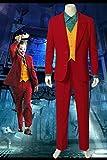 6580工場直販 実物撮影 『ザ・ジョーカー』Joker ジョーカー 映画 コスチューム cosplay コスプレ衣装(男性S)