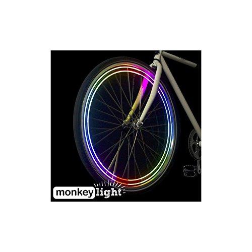 Monkey Light M204 モンキーライト / 40ルーメンの輝度と4フルカラーLED / 自転車用 LED ホイールライト