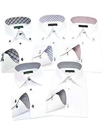 GREENWICH POLO CLUB(グリニッジポロクラブ) 長袖ワイシャツ 5枚セット メンズ pb 001-S