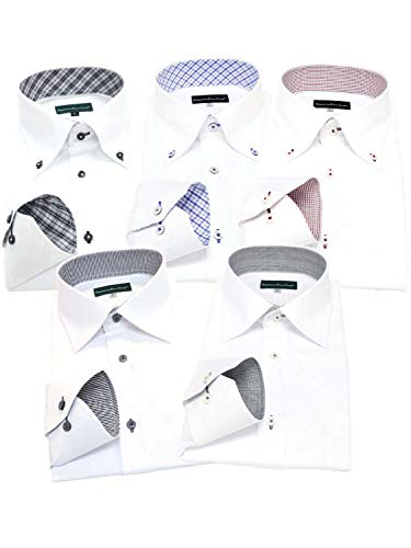 GREENWICH POLO CLUB(グリニッジポロクラブ) 長袖ワイシャツ 5枚セット メンズ pb 222-M