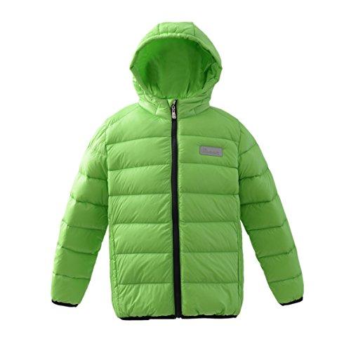 M2C 아이 다운 코트 경량 라이트 다운 사내 아이 재킷 방한  아우도도아  남녀 겸용 등산 통학-