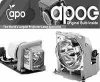 3d PerceptionコンパクトSX + 42プロジェクタ用交換ランプとハウジングPhilipsバルブ内側