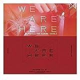 MONSTA X - TAKE.2 WE ARE HERE (4アルバムセット)- 4CD+4フォトブック+4ランダムフォトカード+4初回限定特典 / モンエクアルバム「折りたたみポスター4枚」