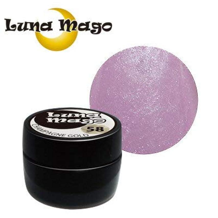 神秘ボリューム理論Luna Mago カラージェル 5g 010 ディピンク