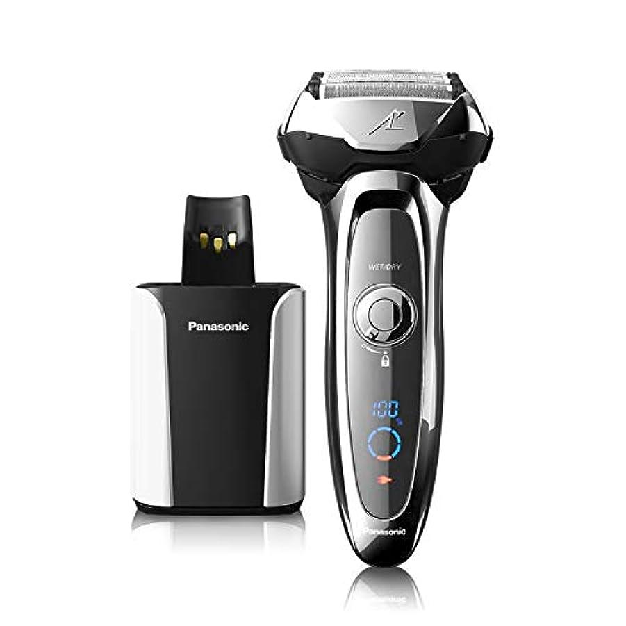 十代喜び毎月Panasonic ES-LV95-S Arc5 Wet/Dry Shaver with Cleaning and Charging System(US Version, Imported)