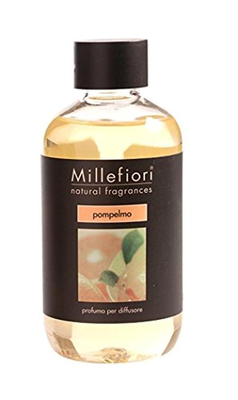 無効抵抗目的Millefiori NATURAL FRAGRANCES フレグランスディフューザー専用リフィル 250ml グレープフルーツ DIF-25-003