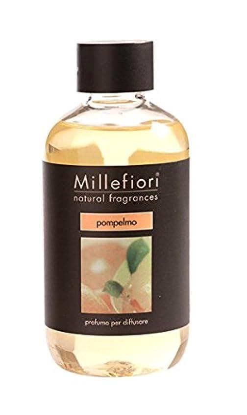団結するサリー消費するMillefiori NATURAL FRAGRANCES フレグランスディフューザー専用リフィル 250ml グレープフルーツ DIF-25-003
