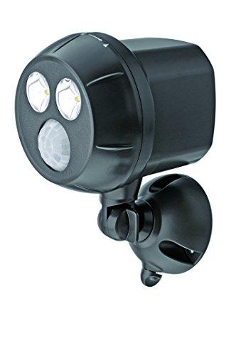 MR BEAMS(ミスタービームス) ULTRA BRIGHT(ウルトラブライト) LED 人感センサー ライト 【驚きの明るさ300ルーメン/乾電池式】 MB390