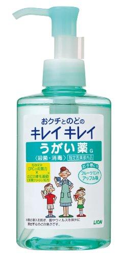 キレイキレイ うがい薬 フルーツミント アップル味 200ml (指定医薬部外品)