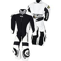RSタイチ(アールエスタイチ)バイク用レザースーツ ホワイト (140cm) J-022 キッズレザースーツ NXL022