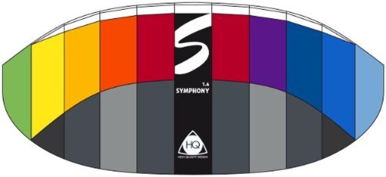 HQ Kites Symphony Series 1.4 R2F Kite [並行輸入品]