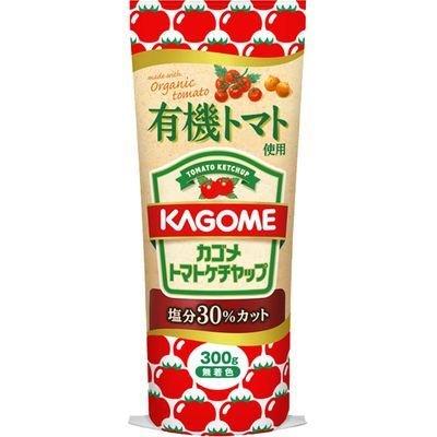 カゴメ 有機トマト使用トマトケチャップ 300g