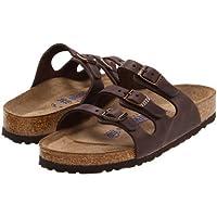 Birkenstock(ビルケンシュトック) レディース 女性用 シューズ 靴 サンダル Florida Soft Footbed - Leather - Habana Oiled Leather [並行輸入品]