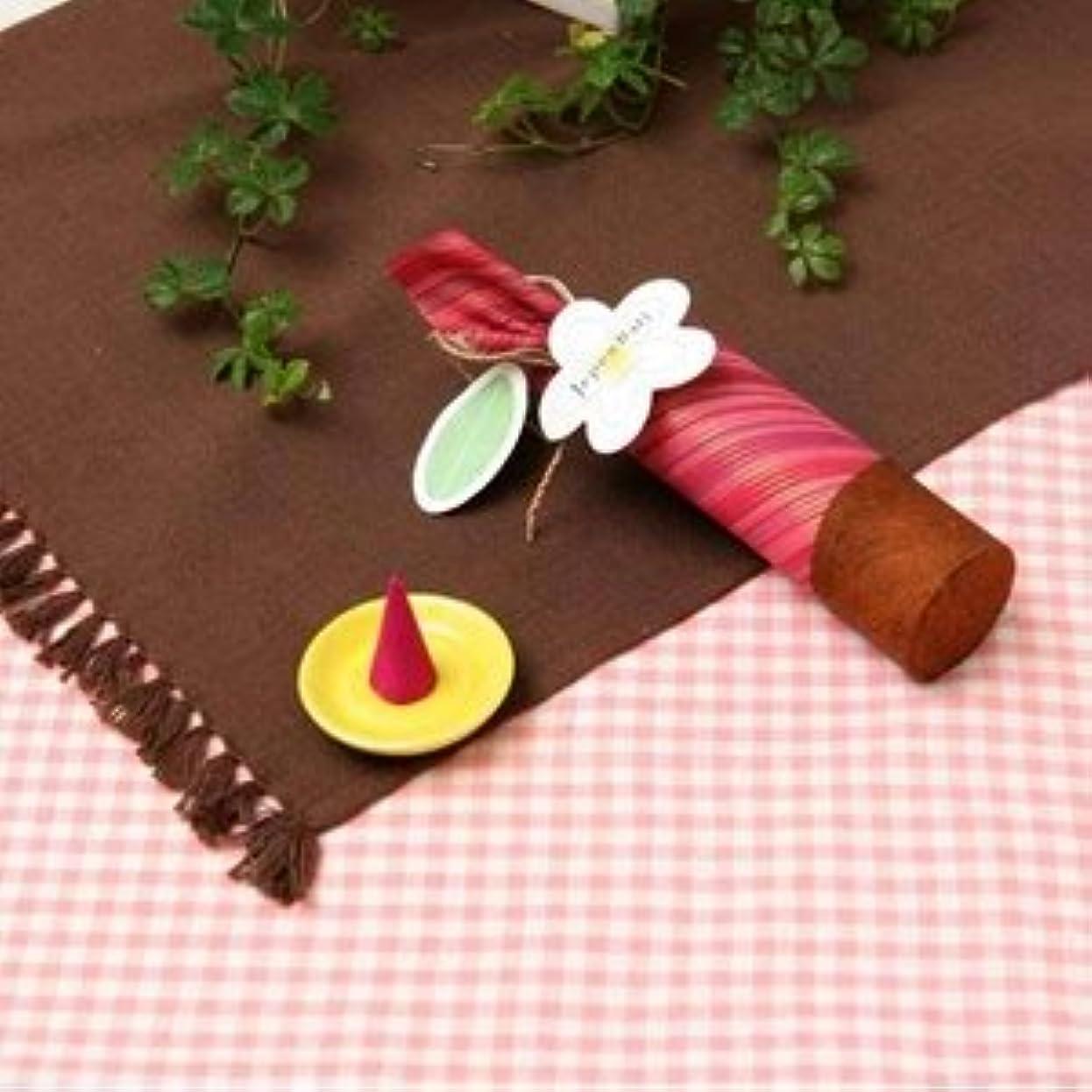 リルによって取るに足らないお香 【Jupen Bari】ジュプンバリ コーンタイプ10個入り (桜)