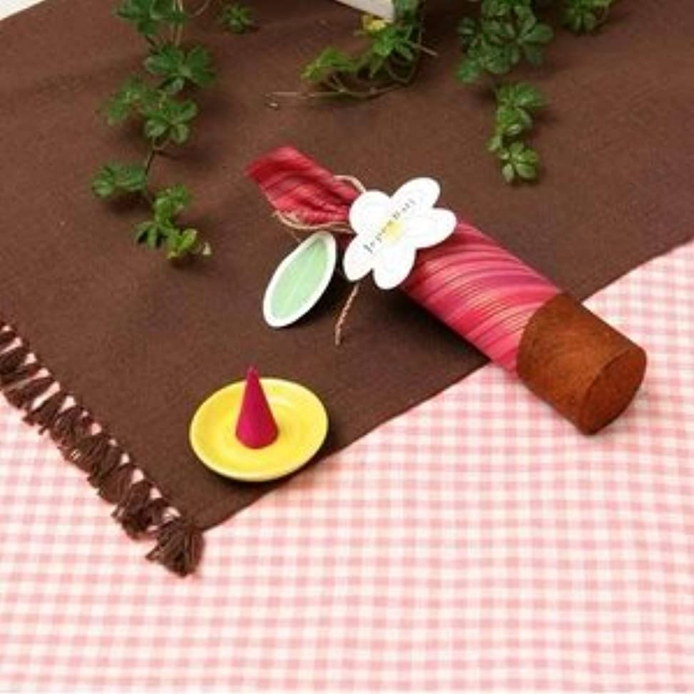 からに変化するゲートキャベツお香 【Jupen Bari】ジュプンバリ コーンタイプ10個入り (桜)