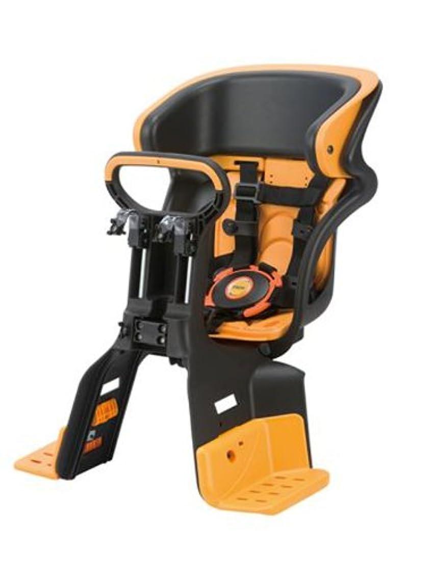 再生的毛細血管量でYAMAHA(ヤマハ) ヘッドレスト付 コンフォート フロントチャイルドシート ブラック/オレンジ Q5K-OGG-208-255