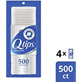 Q-tips Cotton, Swabs, 500 ct, 4 pack