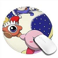 SaTaLa 4個入リ 3D柄プリント 星のカービィ スターアライズ マウスパッド ゲーミング おしゃれ ゲーミン コンピュータ マウスパッド 大型 カスタマイズ Mouse Pad アクセサリ 防水 滑り止め(4pcs入リ)