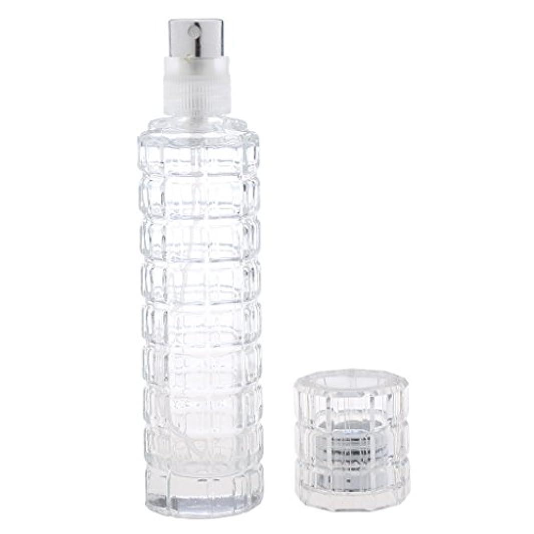 乱用計画的ボルトKesoto 可愛い 空 香水ボトル ガラス 香水瓶 アトマイザー スプレー 旅行用 30ml 便利 全2色 - クリア