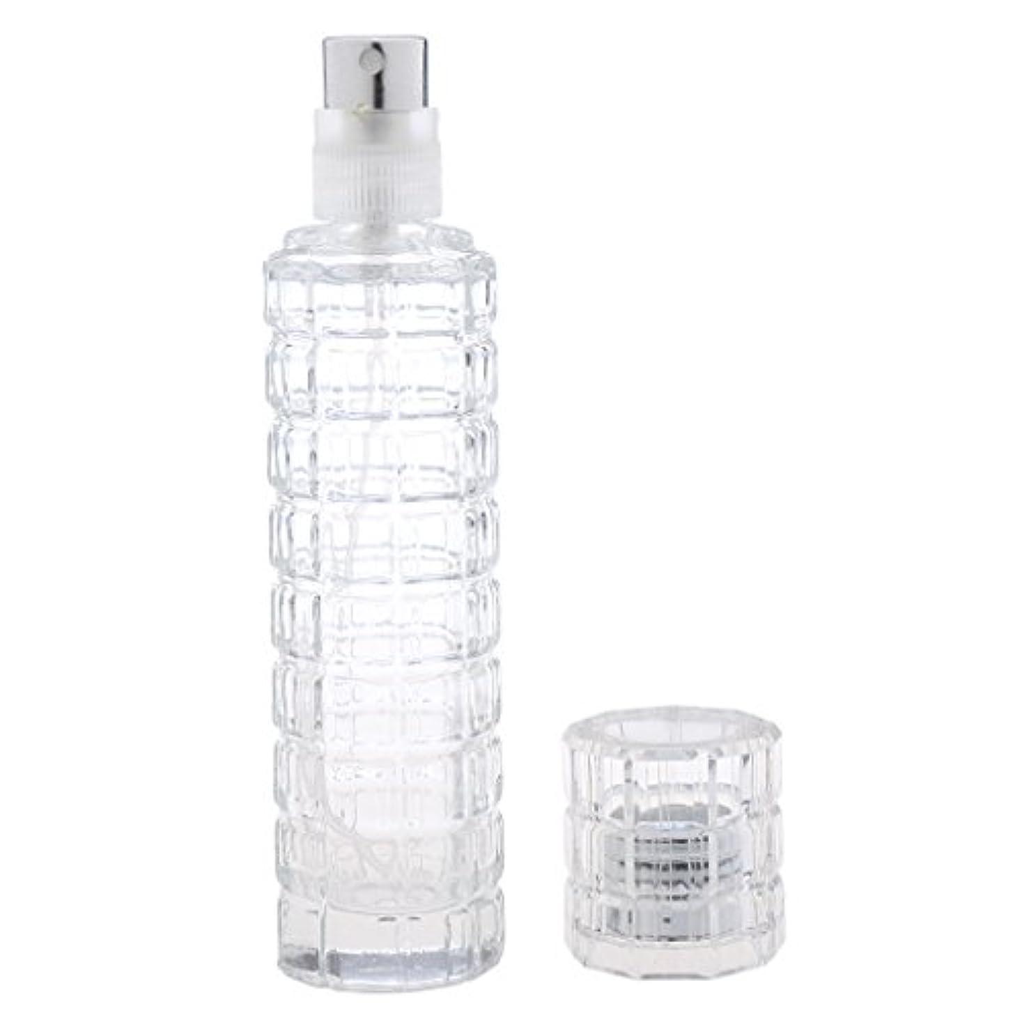 可愛い 空 香水ボトル ガラス 香水瓶 アトマイザー スプレー 旅行用 30ml 便利 クリア