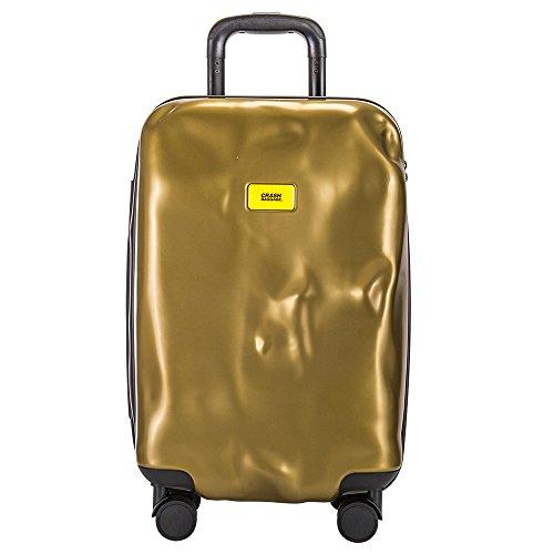 クラッシュバゲージ Crash Baggage スーツケース 65L ブライト Mサイズ 中型 CB112 ゴールド(20) [並行輸入品]