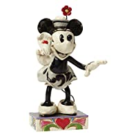 """Department 56Disney Traditions by Jim Shore Minnie Mouse Figurine, 6"""""""